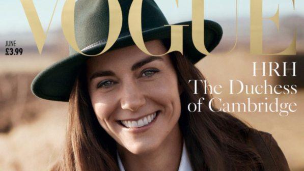 Vogue, 25 anni dopo Diana la copertina è per Kate Middleton